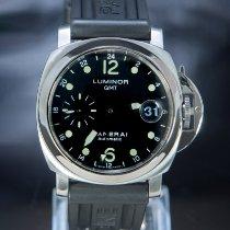 Panerai Luminor GMT Automatic Steel 40mm Black Arabic numerals