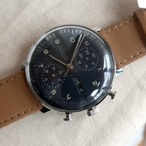 Junghans max bill Chronoscope Steel 40mm Grey Arabic numerals