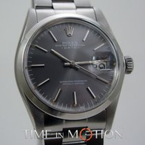 Rolex Oyster Perpetual Date 1500 Gray Dial + Rolex pouche