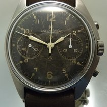 Hamilton Chronographe Military - R.A.N. inv. 1433/53