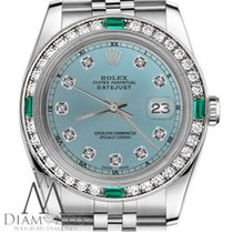 Rolex Lady-Datejust Steel 31mm Blue United States of America, New York, New York