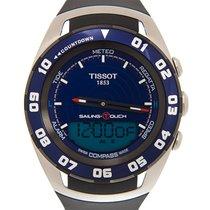 Tissot Sailing-Touch Zeljezo 45mm Plav-modar