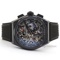 Zenith Ceramic Automatic Transparent 44mm new Defy El Primero