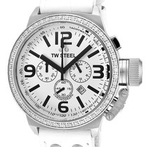 TW Steel Chronograph 45mm Quartz new White