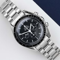 Omega Speedmaster Professional Moonwatch Aço 42mm Preto