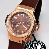 Hublot Big Bang 38 mm Rose gold 38mm Brown
