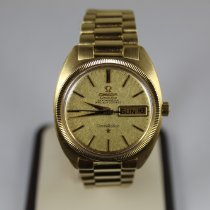 Omega Constellation Day-Date Yellow gold 34mm Gold No numerals