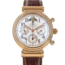 IWC Da Vinci Perpetual Calendar Red gold 42mm Silver Arabic numerals United States of America, Maryland, Baltimore, MD