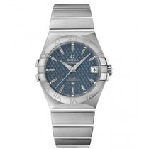 Omega Constellation Ladies Steel 35mm Blue