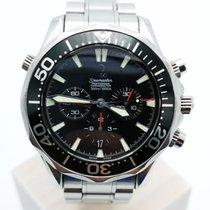 Omega Seamaster Diver 300 M Stahl 41.5mm Schwarz Keine Ziffern