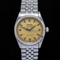 Rolex Air King Precision Steel 34mm Grey No numerals United Kingdom, Macclesfield