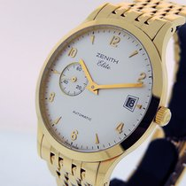 Zenith Elite Yellow gold 37mm White Arabic numerals United States of America, California, Los Angeles