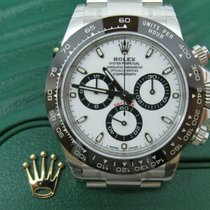 Rolex Ceramic Automatic White No numerals 40mm new Daytona