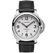 Panerai Luminor Base Logo Acero 44mm Blanco Árabes España, España