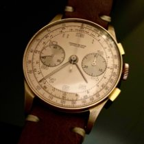 Chronographe Suisse Cie Or rose 36mm Remontage manuel 136488 occasion