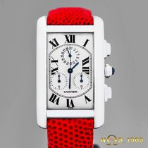 Cartier Tank Américaine White gold 27mm White Roman numerals
