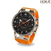Locman Montecristo Uomo 0514V04-00BKOSIO crono automatico arancio