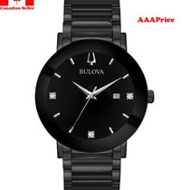 Bulova 98D144 MODERN Diamond Watch w/ Date Men's Watch
