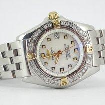 Breitling Callistino MOP dial and diamond bezel