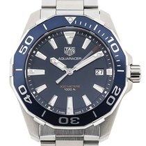 TAG Heuer Steel Quartz Blue 41mm new Aquaracer 300M