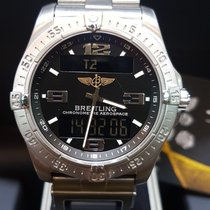 Breitling Aerospace Avantage Titane 42mm Noir Arabes