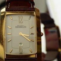 Michel Herbelin Or/Acier 37mm Quartz 16862 eta swiss mvt occasion