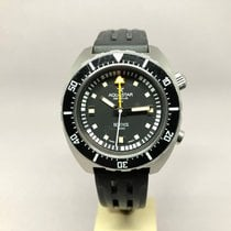 Aquastar Chronograph 42mm Automatic 1964 pre-owned Black