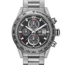 TAG Heuer Carrera Calibre HEUER 01 Titanium 43mm Grey