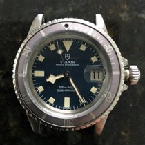 Tudor 1976 Submariner snowflake with blue dial and ghost...