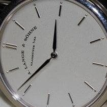 A. Lange & Söhne 40mm Handaufzug gebraucht Saxonia Silber