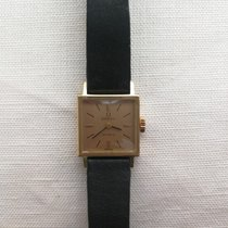 Omega Rose gold Manual winding 17mm pre-owned Genève