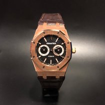 Audemars Piguet Royal Oak Day-Date Rose gold 39mm Black No numerals Indonesia, Jakarta Selatan