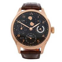 IWC Portuguese 18K Rose Gold Men's IW502119 - W5502