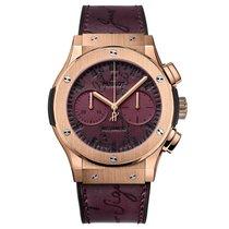 Hublot Classic Fusion Chronograph Rose gold United States of America, New York, New York