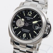 Panerai Luminor GMT Automatic Titan 44mm Sort Arabertal