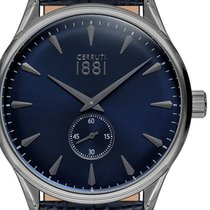 Cerruti Steel 43mm Quartz CRA24006 new