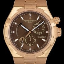 Vacheron Constantin Overseas Dual Time Or rose 42mm Brun
