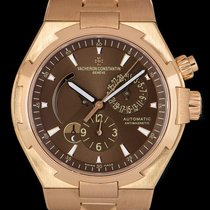 Vacheron Constantin Overseas Dual Time Rose gold 42mm Brown