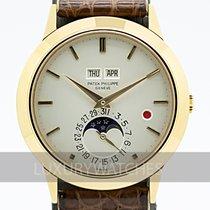 Patek Philippe Perpetual Calendar použité 37.5mm Šampaňská barva Krokodýlí kůže