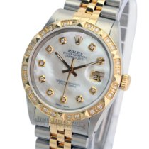 Rolex Datejust Gold/Steel 36mm Gold No numerals United States of America, California, Sherman Oaks