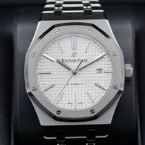 Audemars Piguet Royal Oak Selfwinding Steel 41mm Silver No numerals United States of America, Massachusetts, Pittsfield