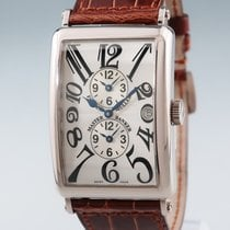 Franck Muller White gold 32mm Automatic 1200SMB pre-owned