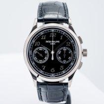 Patek Philippe Chronograph nuevo 2016 Cuerda manual Cronógrafo Reloj con estuche y documentos originales 5170G-010