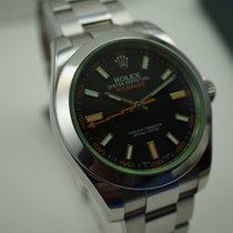 Rolex Milgauss pre-owned 40mm Steel