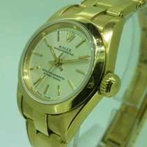 Rolex lady oyster perpetual women's watch