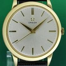 Omega Vintage 36mm Calatrava Look 2686 Cal 283 18k Solid Gold