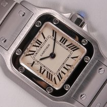 Cartier Lady Santos Galbee 1565 Stainless Steel 23mm Watch-Rom...