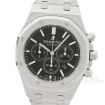 オーデマ・ピゲ (Audemars Piguet) Royal Oak Chronograph Black Dial...