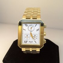 Piaget Protocole 18 Karat Yellow Gold Chronograph Men's/...