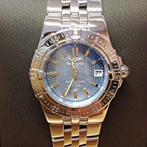 Breitling Starliner Blue M.O.P Dial - Box & Papers 2006